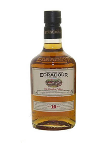 Edradour 10 Year Old Single Malt Scotch - 750ml