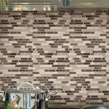 Metal Adhesive Backsplash Tiles by Peel And Stick Backsplash Tile You U0027ll Love