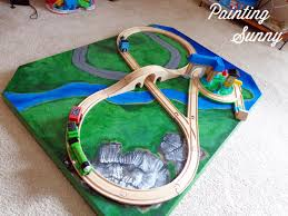 pottery barn kids train table wooden plans woodworking project