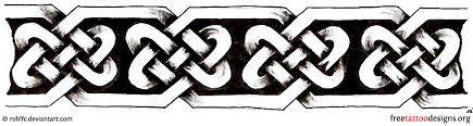 Celtic Armband Tattoo Design