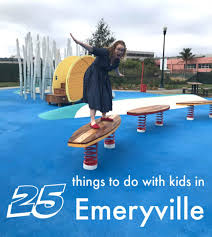 Fun With Kids In Emeryville Christie Park Pictured