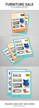 Furniture Promotional Sales Flyer Design Template
