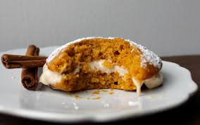 Pumpkin Cake Paula Deen by Yammie U0027s Noshery Pumpkin Whoopie Pies With Chai Spiced Cream