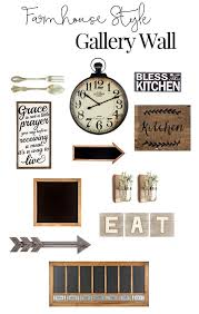 Rustic Gallery Wall Inspiration For The Kitchen