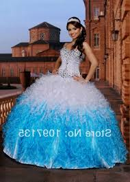 turquoise and white quinceanera dresses naf dresses