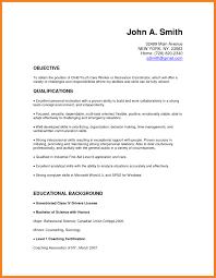 Sample Resume For No Experience Teacher New Prepossessing Child Care