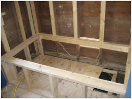 construct a frame for tub deck surround search how 2