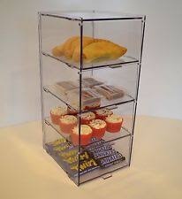 Small Bakery Pastry Display Case Stand Cabinet Cakes Cupcakes