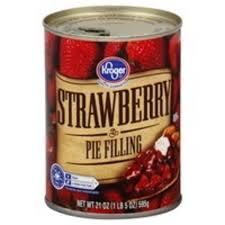 Kroger Strawberry Pie Filling