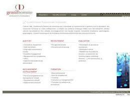 gentilhomme ressources humaines cabinets de recrutement executive