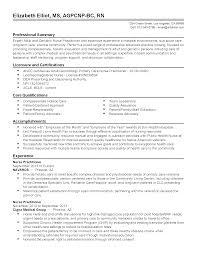 Resume Templates Geriatric Nurse Practitioner