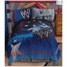 gettington wwe twin kids bed set