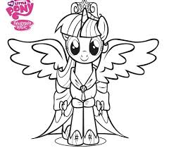 My Little Pony Princess Coronation Twilight Sparkles Become Plus Fun Activities To Celebrate Free Coloring SheetsColoring