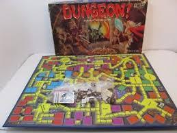 Vintage Dungeon Juego De Mesa Fantasia TSR