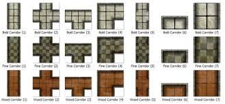 living dungeon tile set pdf by complex 77 kickstarter