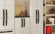 Hdx Plastic Storage Cabinets by How To Install A Closet Organizer System At The Home Depot