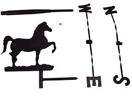 Amazon.com : Prancing Horse Weather Vane Topper - Black Metal ... Storm Rider Horse Weathervane With Raven Rider Richard Hall Outdoor Cupola Roof Horse Weathervane For Barn Kits Friesian Handcrafted In Copper Craftsman Creates Cupolas And Weathervanes Visit Downeast Maine Polo Pony Of This Fabulous Jumbo Weather Vane Is Made Of Copper A Detail Design Antique Weathervanes Ideas 22761 Inspiring Classic Home Accsories Fresh Great Sale 22771