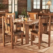 rustic dining furniture black forest decor