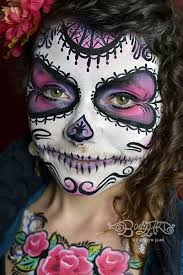 Easy Sugar Skull Day Of by Halloween Face Painting U0026 Day Of The Dead Sugar Skulls San