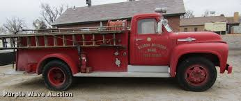 1953 Ford F800 Big Job Fire Truck | Item DE6607 | SOLD! Marc... 1953 Dodge Pickup For Sale 77796 Mcg Rare Military Fire Rescue M56 R2 D100 Berlin Motors Ram 1916418 Hemmings Motor News Alfred State Students Raising Funds To Run 53 Daily Classic Spotlight The Coronet Used Truck Wheels Sale B Series Trucks Genuine Rare Modest 1945 Halfton Article William Horton Photography Auctions Owls Head Transportation Museum