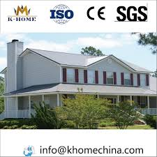 100 Homes Made Of Steel China Luxury Color Frame Prefab With Furnitures Photos