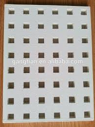 2x2 perforated gypsum board acoustical ceiling tiles prices buy