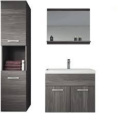 badplaats bv badezimmer badmöbel set montreal 60 cm waschbecken bodega unterschrank hochschrank waschtisch möbel