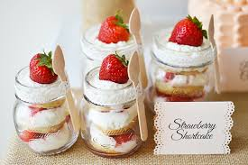 Strawberry Shortcake Part Of The Rustic Experience Dessert Table