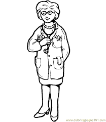 Doctor Hospital Coloring Page 26