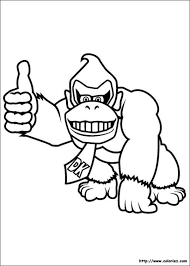 Super Mario Bros Coloring Pages 19