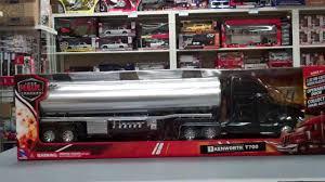 Kenworth T700 Oil Tanker 1/32 Scale Tractor Trailer Model - YouTube