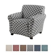 Home Fashion Designs Printed Twill Arm Chair Slipcover. One Piece Stretch  Chair Cover. Strapless Arm Chair Cover For Living Room. Brenna Collection  ... 10 Best Sofa Covers In 2019 Toprated Couch Chair Slipcovers Glamorous Chaise Lounge Cover Grey Living Room A New Look At Slip With Bemz House Of Brinson Hampton Bay Beacon Park Cushionguard Pewter Patio Slipcover 58 For How To Make A Slipcover Part 1 Intro Custom Ping How Sew Parsons For The Ikea Henriksdal Armless Leather Low Veranda Classics Sofas Couches Classic Surefit Gray Pin On Home Shat Ideas Chairs Contemporary Sims Rooms Modern Rolled Arm
