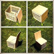 Milk Crates Storage Introduction Crate Chair For Camping Or Vinyl Upgrade