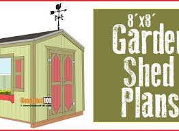 8x8 shed plans archives construct101
