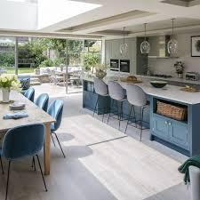 Kitchen Dining Room Combo Floor Plans Elegant Open Concept 2018 Trends