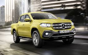 100 Mercedes Benz Pickup Truck Open To V8powered XClass Pickup