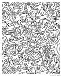 Adult Zen Anti Stress To Print Rainbows Coloring Pages