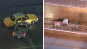 Wild California Police Chase Ends After Driver Detours Into Train ...