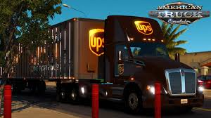 American Truck Simulator: UPS Delivery - Matching T680 And Trailer ...