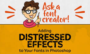 Ask A Font Creator Adding Distressed Effects To Your Fonts In Photoshop