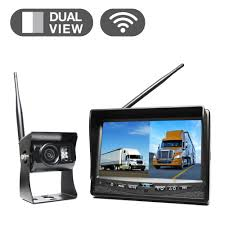 Wireless Backup Camera System With 7 In. Dual Screen Display-RVS ... 7inches 24ghz Wireless Backup Camera System For Trucks Ls7006w Zsmj And Monitor Kit 9v24v Rear View Cctv Dc 12v 24v Wifi Vehicle Reverse For Cheap Safety Find 5 Inch Gps Backup Camera Parking Sensor Monitor Rv Truck Winksoar 43 Lcd Car Foldable Wired 7inch 4xwaterproof Rearview Mirror 35 Screen Parking C3 C4 C5 C6 C7 Corvette 19682014 W 7 Pyle Plcmdvr8 Hd Dvr Dual Best Rated In Cameras Helpful Customer Reviews Three Side With