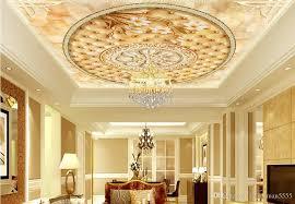 großhandel 3d decke moderne 3d wandbild tapete benutzerdefinierte magnolia 3d decke wohnzimmer wandbild tapete für wände 3 d decke yeyueman5555