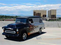 1957 Chevrolet 3100 Panel Van For Sale | ClassicCars.com | CC-891220 9 Sixfigure Chevrolet Trucks 3100 Pickup V8 Project 1957 Pickup For Sale Classiccarscom Cc1035770 Rare Napco 4x4 Shortbed Stepside Project Gmc Panel Truck Hot Rod Network 12 Ton 502 Sale On Chevy Cameo Classic