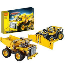 100 Lego Mining Truck 2in1 Model Compatible Mainan Game Undefined