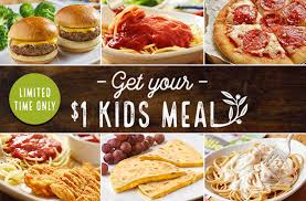 Kids Eat for $1 00 at Olive Garden this weekend My Momma Taught Me