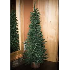Realistic Artificial Christmas Trees Nz by Potted Christmas Trees You U0027ll Love Wayfair