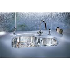 kitchen sinks prestige stainless steel double bowl undermount