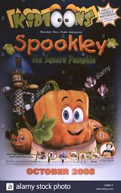 Spookley The Square Pumpkin by Spookley The Square Pumpkin Us Poster 2005 Kidtoon Stock