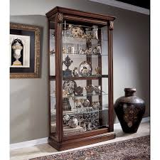 Walmart Corner Curio Cabinets by Furniture Stunning Curio Cabinet For Modern Home Furniture Ideas