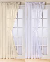 Patio Door Curtains Grommet Top by Voile Curtains For Patio Doors Nrtradiant Com